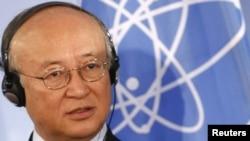 یوکیو آمانو، مدیر کل آژانس بینالمللی انرژی اتمی