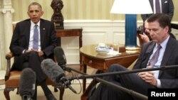 Barack Obama və James Comey