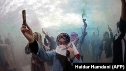 بغداد، دیروز صحنۀ موج تازۀ اعتراضها علیه نخبگان سیاسی و فساد گسترده بود