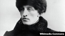 Russian poet Alexander Blok (1880-1921)