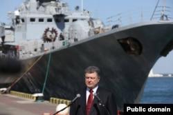 Президент України Петро Порошенко в Одесі. Квітень 2015 року