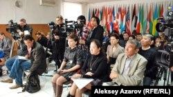 Журналистер. Алматы, 5 мамыр 2013 жыл.