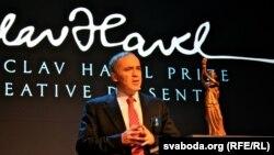Гары Каспараў выступае падчас Форуму Свабоды