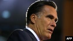 Кандидат в президенты США от республиканцев Митт Ромни.