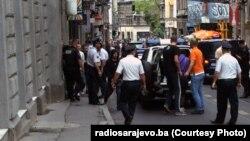 Hapšenja nakon navijačkih nereda u Sarajevu, jul 2012.