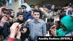 Mehman Hüseynov, polisdə ona verilən işgəncələrdən danışır, 10 yanvar 2017