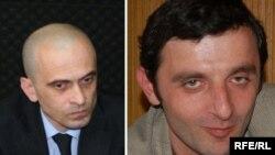 Гоча Гварамия (слева) и Инал Хашиг