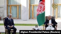 رئیس جمهوری غنی و عبدالله عبدالله