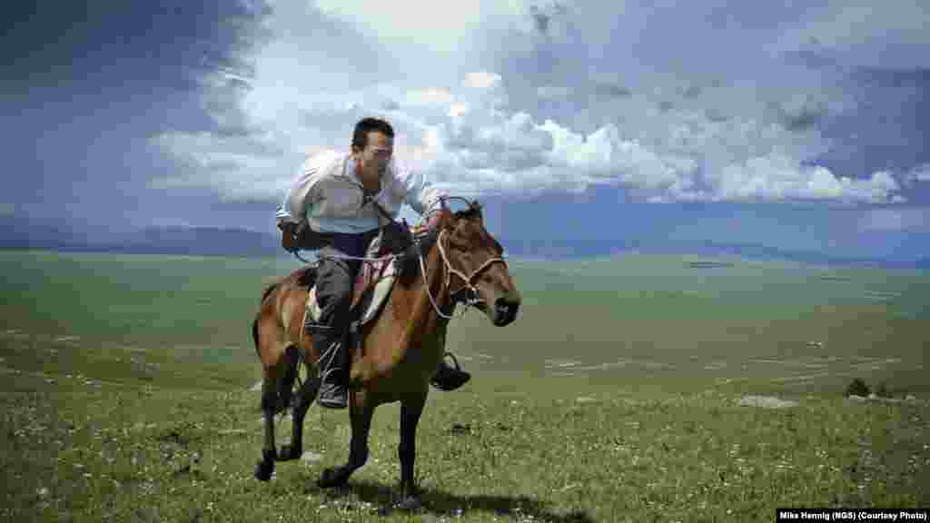 Research scientist and National Geographic Emerging Explorer Albert Lin gallops across the steppes of northern Mongolia as he searches for Genghis Khan's tomb and other archaeological sites.