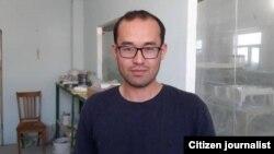Акром Маликов за несколько дней до ареста, 2016 год.