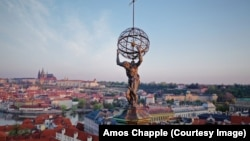 Вид на столицу Чешской Республики Прагу.