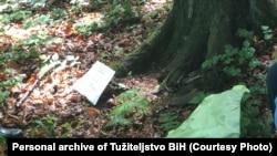 Lokalitet Kameničko brdo u Bratuncu gdje su pronađeni posmrtni ostaci najmanje jedne osobe