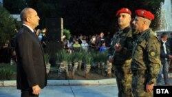 Румен Радев по време на честването на 143-годишнината от подвига на Христо Ботев