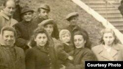 Sofia Cosma la eliberarea din Gulag...