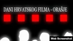 Isečak iz reklame za Dane hrvatskog filma u Orašju