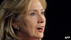 Secretarul de stat Hillary Clinton la Universitatea George Washington