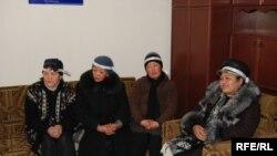 Бишкектеги ачкачылык акциясынын катышуучулары