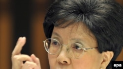 WHO Director-General Margaret Chan warned against overconfidence.