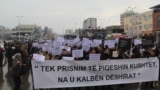 Macedonia: Protest of students in Tetovo