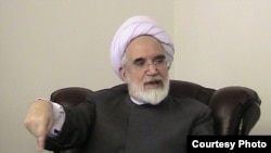 Iranian opposition leader and cleric Mehdi Karroubi (in a December photo provided by Kambez Tavana)