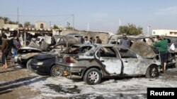 Архивска фотографија: Бомбашки напад во Багдад.