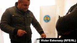Moldova, alegeri prezidenţiale, secţia de vot de la Frankfurt