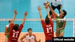 بازی ایران و آمریکا جمعه شب؛ عکس از وبسایت فدراسیون والیبال ایران