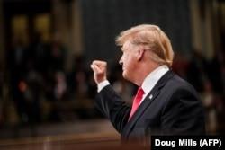Дональд Трамп виступає зі зверненням до нації в Конгресі, Вашингтон, 5 лютого 2019 року