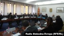 Архивска фотографија: Седница на Советот на Општина Куманово