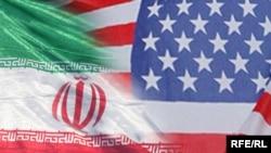 ირანისა და აშშ–ის დროშები