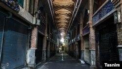 Зачинений ринок в Тегерані, 25 березня 2020 року