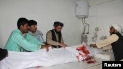 جسد یک خبرنگار کشته شده در افغانستان