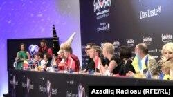 Евросонг прес конференција по втората финална вечер
