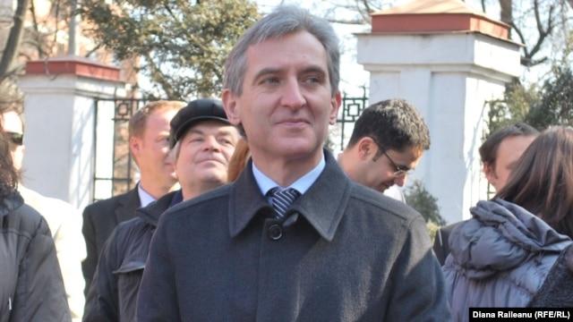 Moldova's new caretaker Prime Minister Iurie Leanca