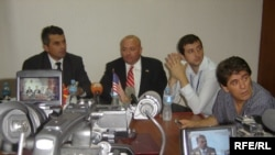 Прес конференција по повод вежбата на американските и македонските безбедносни служби