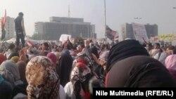 Одна из протестных акций в Каире