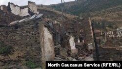 Часть Мокока после пожара