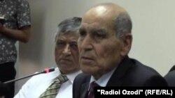 Каххор Махкамов, бывший президент Таджикистана. 22 мая 2014 года.