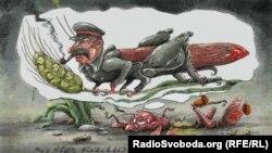 "Сталин ""варжарх"" лаьцна Кистовский Олега язбина сурт-кхардам."