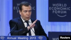 Рускиот премиер Дмитри Медведев.