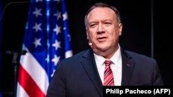 ABŞ-nyň döwlet sekretary Maýk Pompeo (Mike Pompeo)