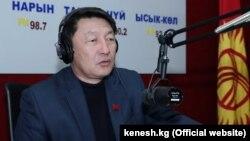 Қырғыз парламенті депутаты Кенжебек Бокоев.