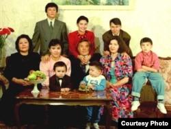 Нұрсұлтан Назарбаевтың отбасы. 1992 жыл.