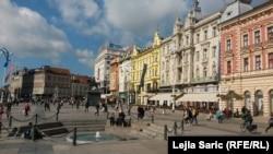 Zagrebački nazivi ulica i trgova u zamci populističke politike (na fotografiji Trg bana Jelačića)