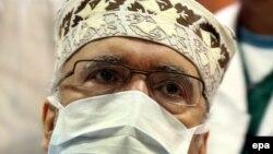 Ал-Меграҳи, Триполи марказий касалхонаси, 2009 йил 9 сентябр.