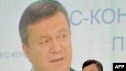 Президент України Віктор Янукович під час прес-конференції