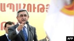 В минувшую субботу премьер Саркисян сделал большой шаг к президентскому креслу
