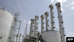 Iran's contentious Arak nuclear reactor. (file photo)