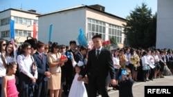 Алматының №12 мектеп-гимназиясында жаңа оқу жылы басталды
