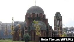 Kisha ortodokse në kampusin e Universitetit të Prishtinës